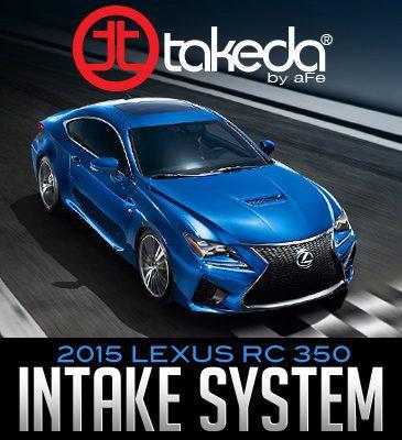 takeda retain air intake system 2015 lexus rc 350 dales. Black Bedroom Furniture Sets. Home Design Ideas