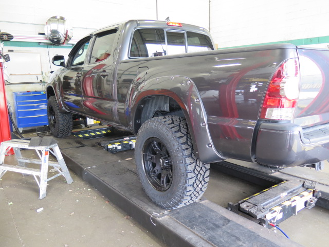 2015 Toyota Tacoma Level Off Kit Long Travel Upper Control Arms Dales Auto Service 604 530
