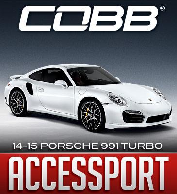 COBB Accessport Support: Porsche 991 Turbo/ Turbo S