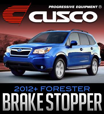 Cusco Brake Cylinder Stopper: 2012+ Subaru Forester