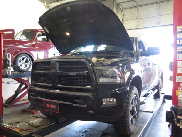 Ram 3500 in for Bilstein 5100 Shocks, Dual Steering Dampers and a Wheel Alignment