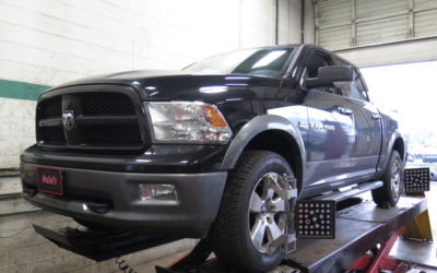2014 Ram 1500 in for Bilstein 5100 Leveling Struts/shocks and a Wheel Alignment