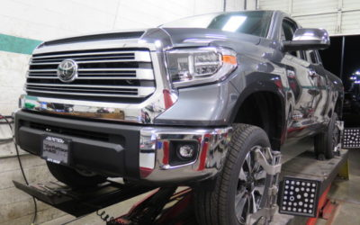 Toyota Tundra in for ReadyLift Leveling Kit and an Alignment